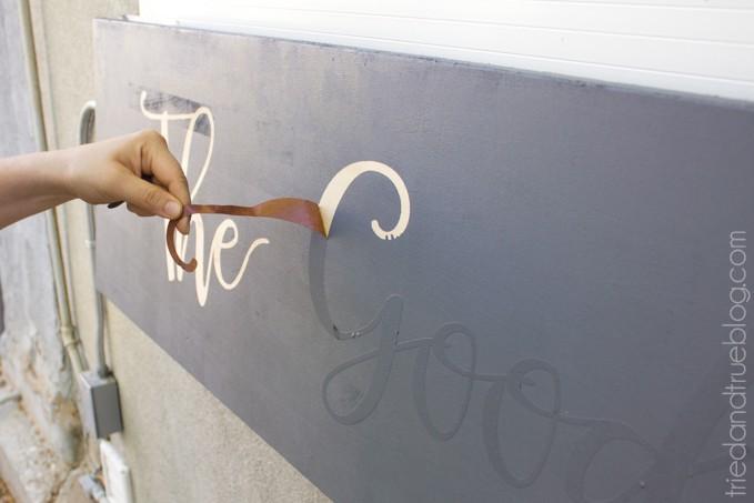 Outdoor Folding Bar Shelf - Remove