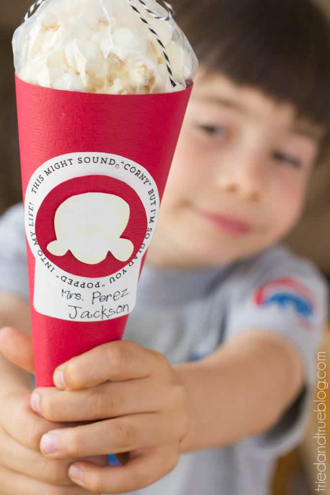 Popcorn Teacher Appreciation Gift - Give