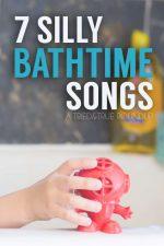 7 Silly Bathtime Songs