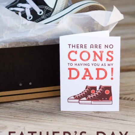 Free printable Hipster Father's Day Cards for that special dude in your life!