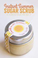 Instant Summer Sugar Scrub