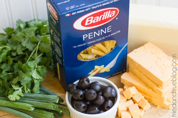 The Perfect Summer Pasta - Ingredients