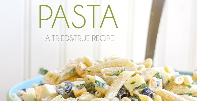 The Perfect Summer Pasta