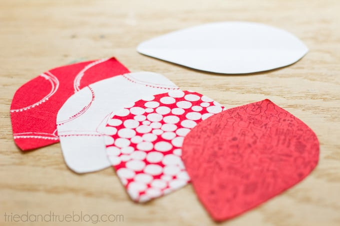 Quilted Tomato Pin Cushion - Shapes