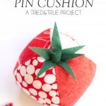 Quilted Tomato Pin Cushion