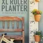 XL Ruler Planter