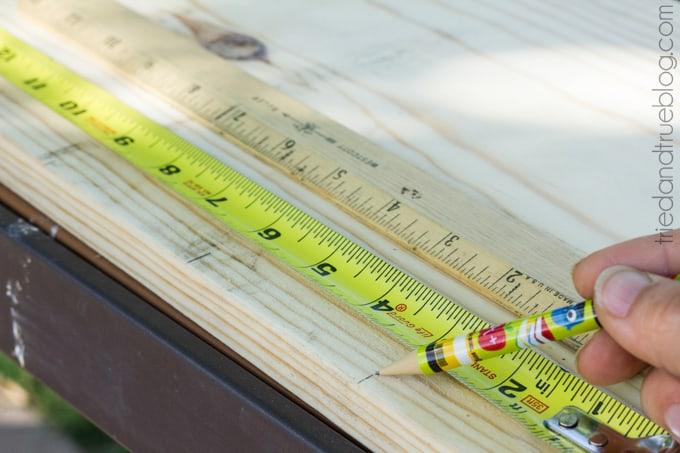 XL Ruler Planter - Measure