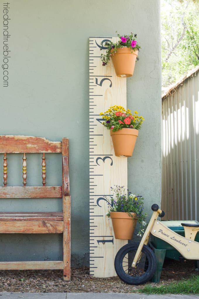 XL Ruler Planter - Decor