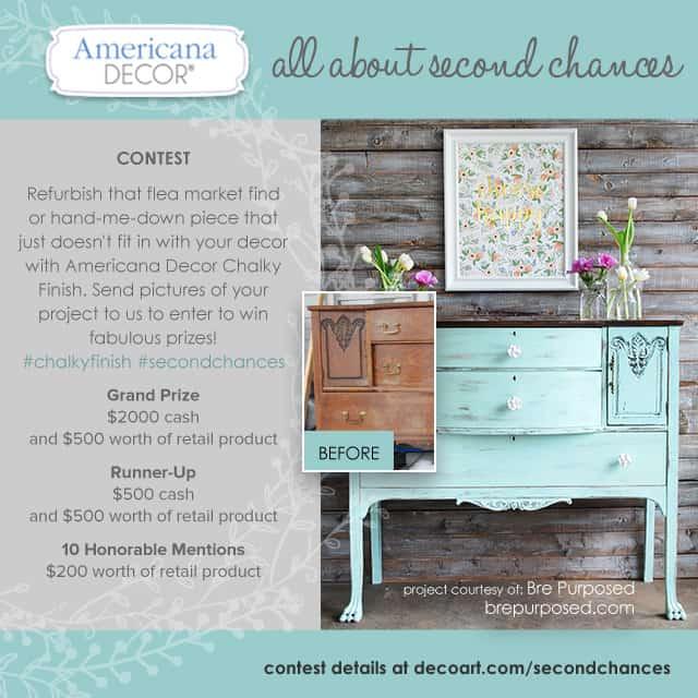 Americana Decor Second Chances Contest