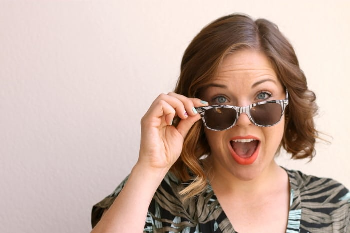 DIY marbled sunglasses 2