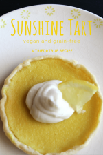 Vegan Sunshine Lemon Tart