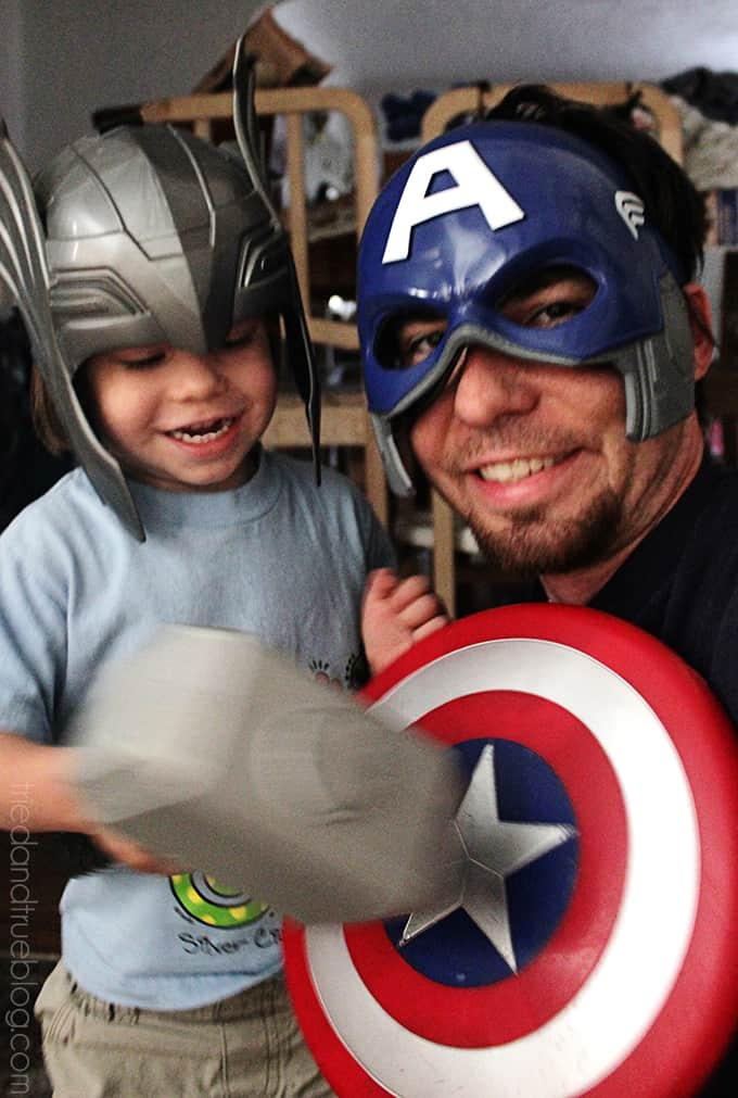 Letter of Love on Father's Day - Superheroes
