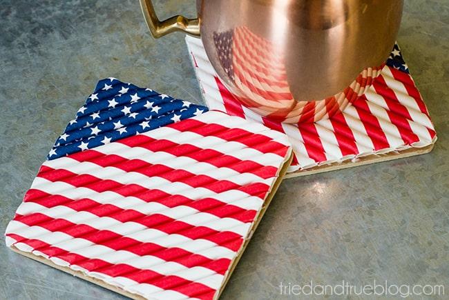 Patriotic-Straw-Coasters-3