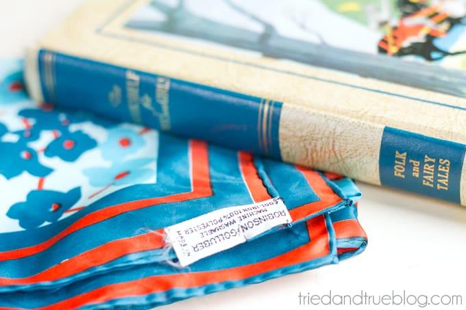Furoshiki Book Bag - Supplies
