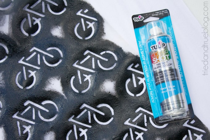 Graffiti Bicycle Scarf - Supplies
