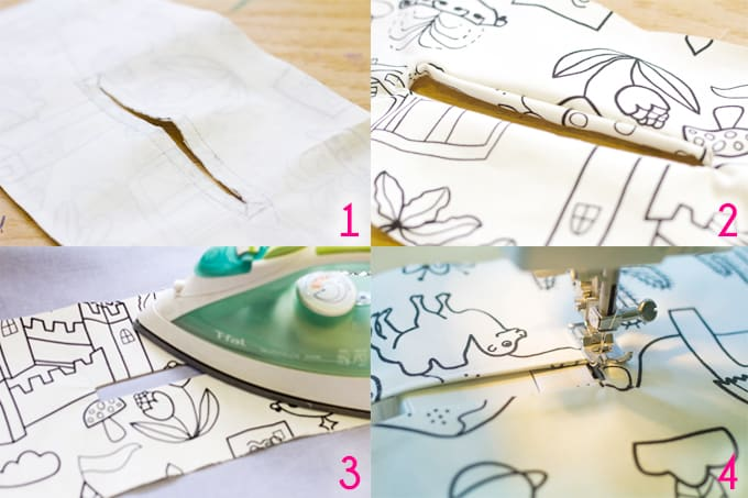 Easy Sewing Machine Cover - Steps