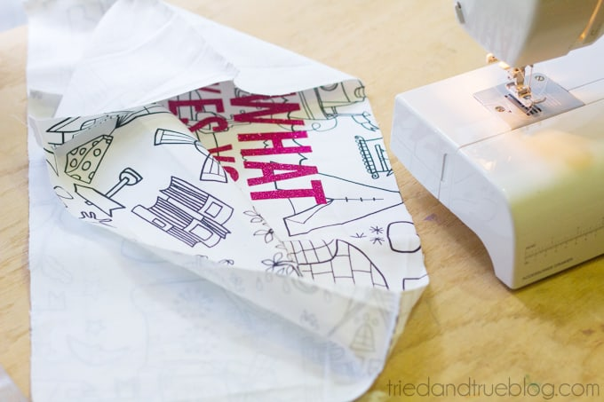 Easy Sewing Machine Cover - Sew