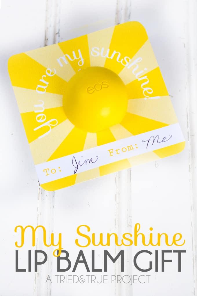 My Sunshine Lip Balm Gift