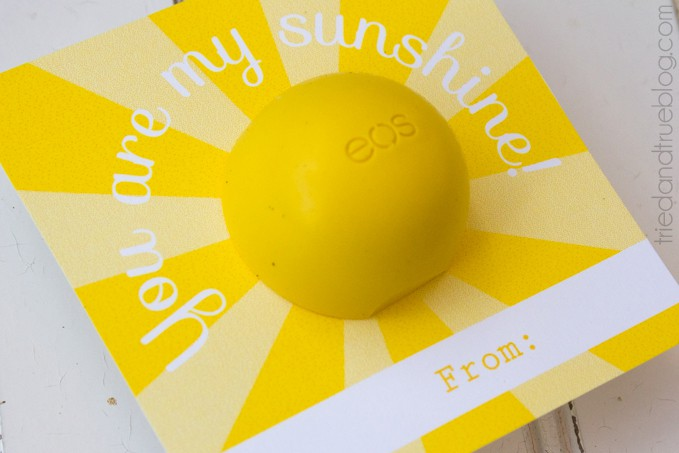 My Sunshine Lip Balm Gift - Give