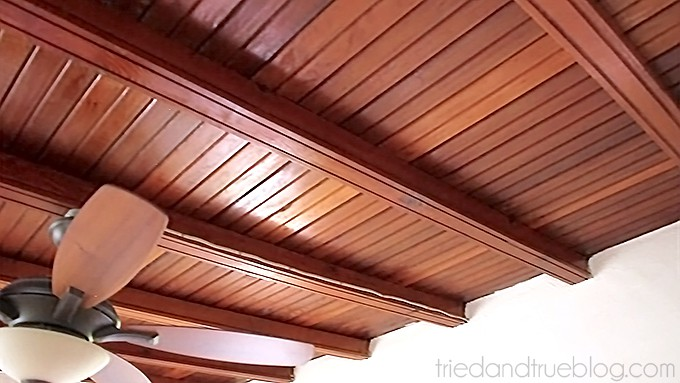 Introducing The Craft Cottage - Original Ceiling