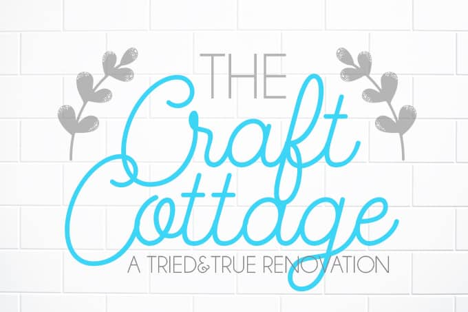 Introducing The Craft Cottage! Join me on my crafty renovation!