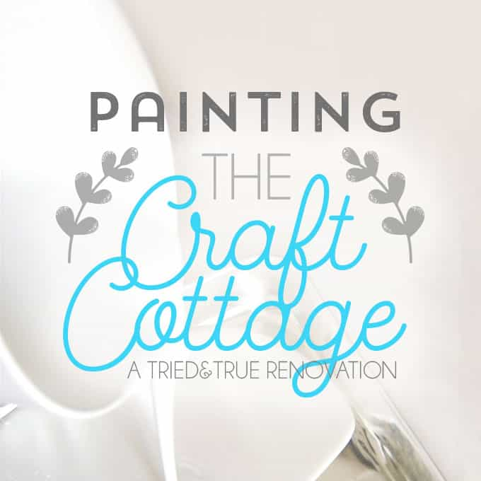 The Craft Cottage - White Paint