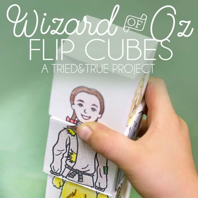 Wizard of Oz Flip Cubes - A Tried & True Project