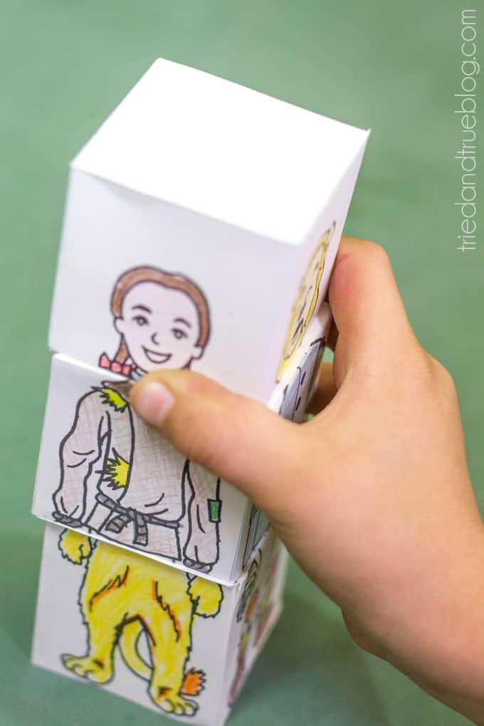 Wizard of Oz Flip Cubes - Mix Up