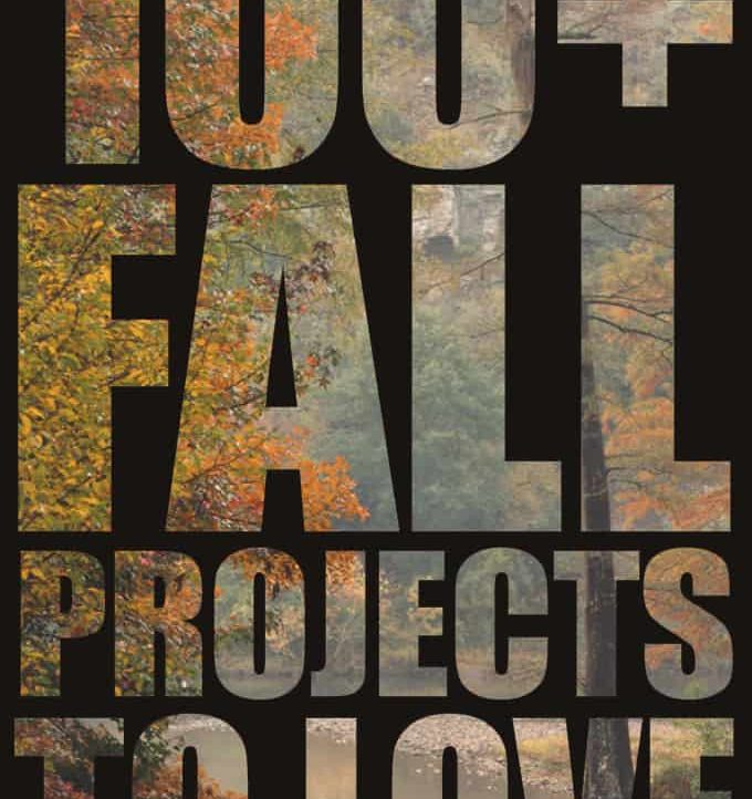 Celebrate all things related to Autumn with this awesome list of 100 Fall Projects to Love!