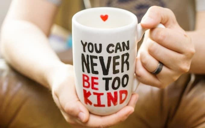 Handmade Mug Gifts - Be Kind