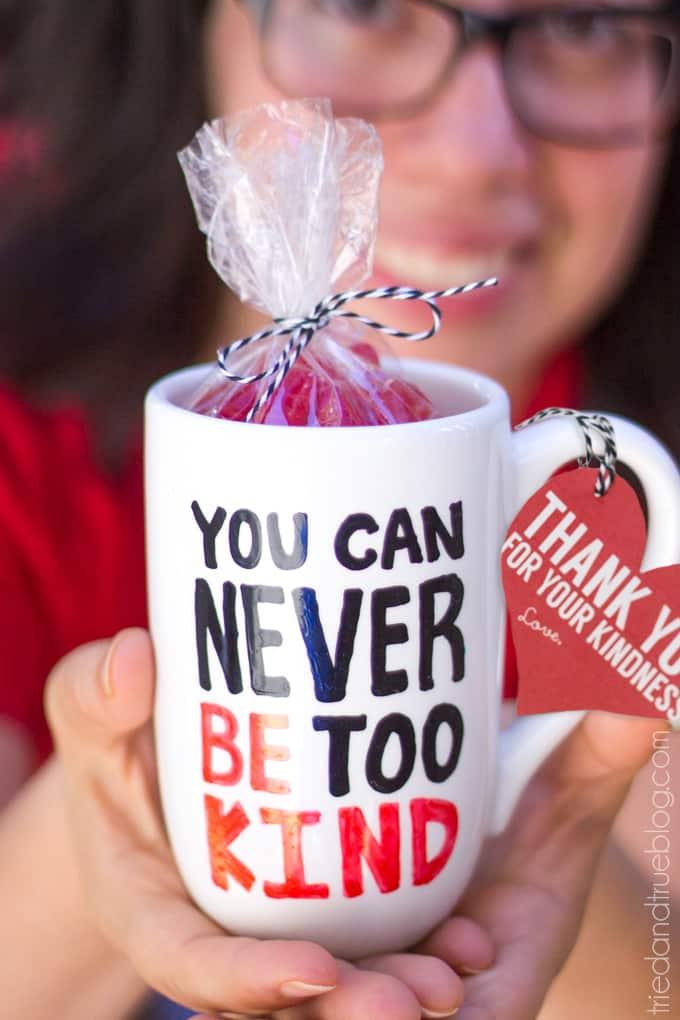 Handmade Mug Gifts - Kindness Gift