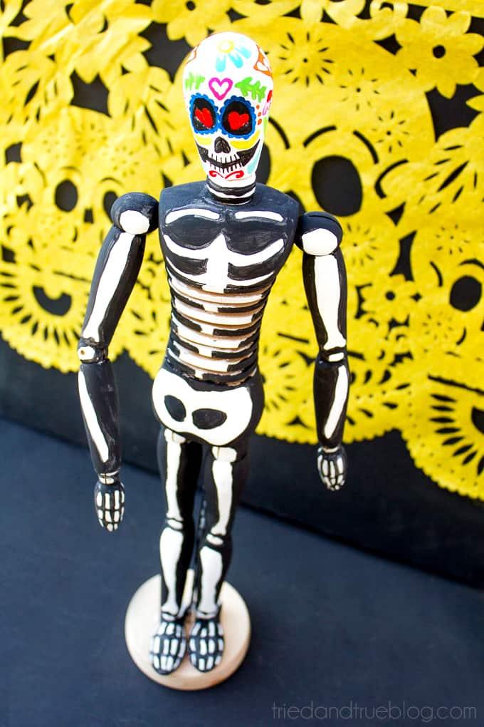 Dia de Los Muertos Figurine - Body