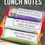 Halloween Lunch Jokes Free Printable