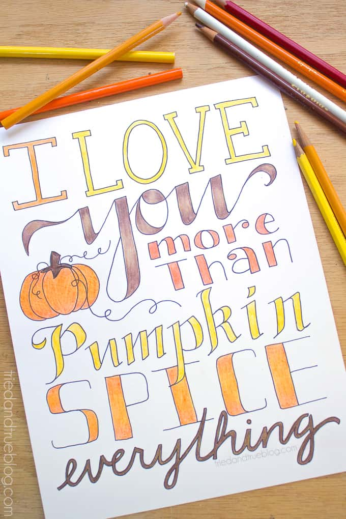 More Than Pumpkin Free Coloring Page - Color