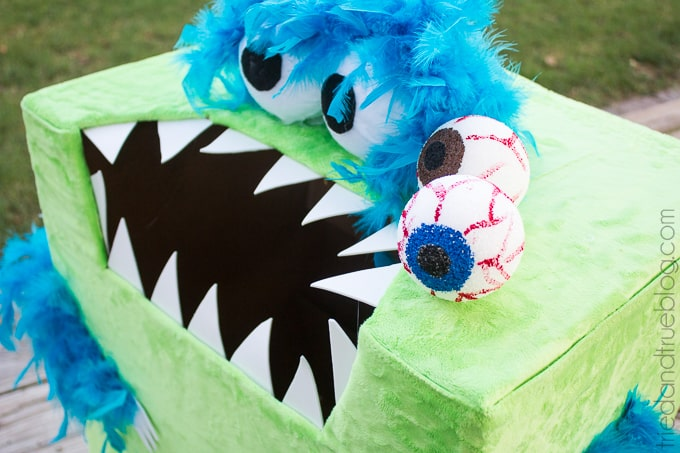 """""""Feed The Monster"""" Halloween Game - Ready to eat!"""