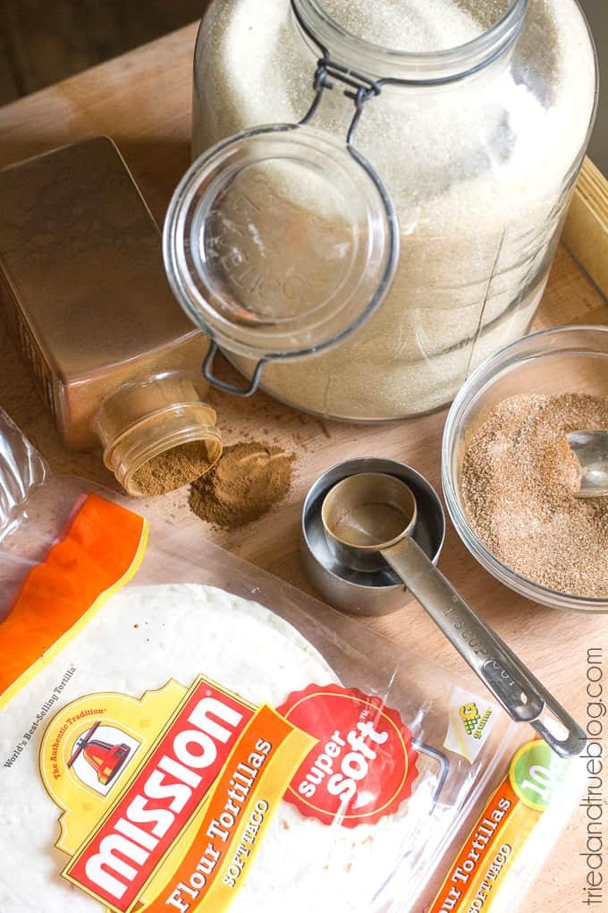 Football Tortilla Crisps - Ingredients