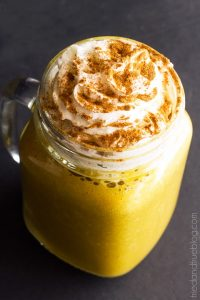 Caffeine-Free Pumpkin Spice Drink - Garnish