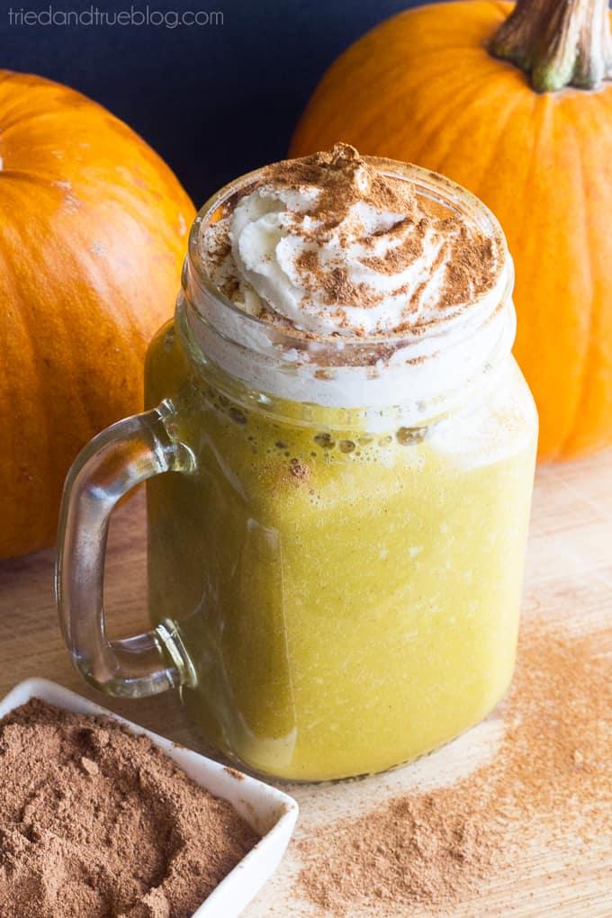 Caffeine-Free Pumpkin Spice Drink - Delicious