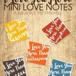 """I Love You More"" Mini Love Notes"