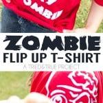 Zombie Flip Up T-Shirt
