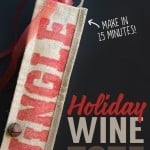 15 Minute Holiday Wine Tote Gift