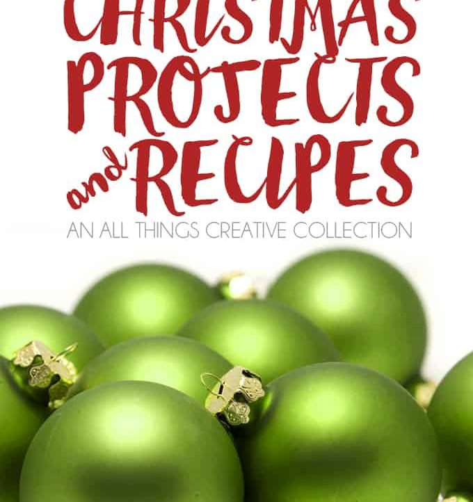 Come get all the holiday inspiration you could need with these 100+ Christmas Projects and Recipes!