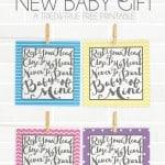 """""""Baby Mine"""" New Baby Gift Set"""