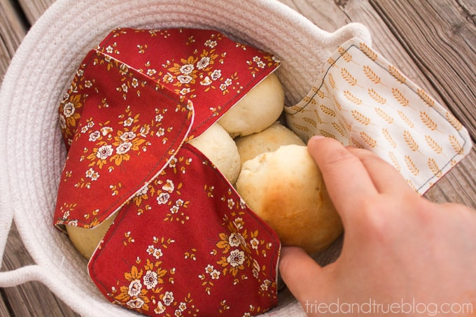 Fabric Napkin Bread Warmer - Serve