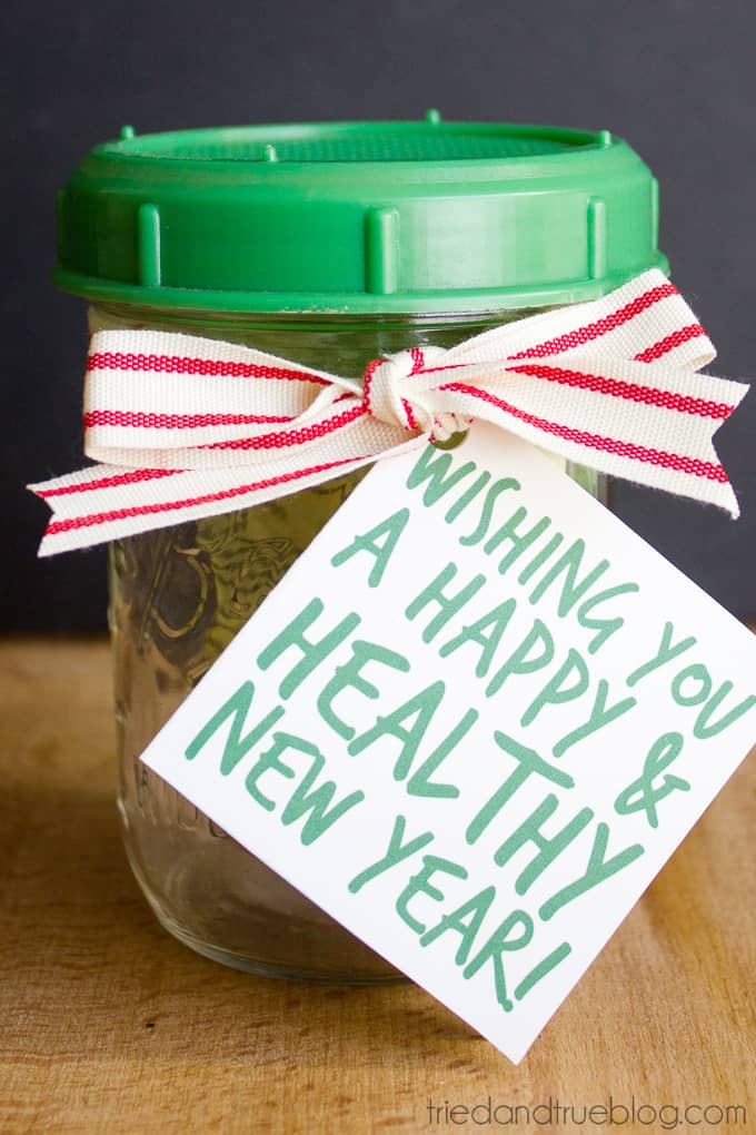 Healthy Mason Jar Gift - Ready to give!