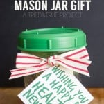 Healthy Mason Jar Gift