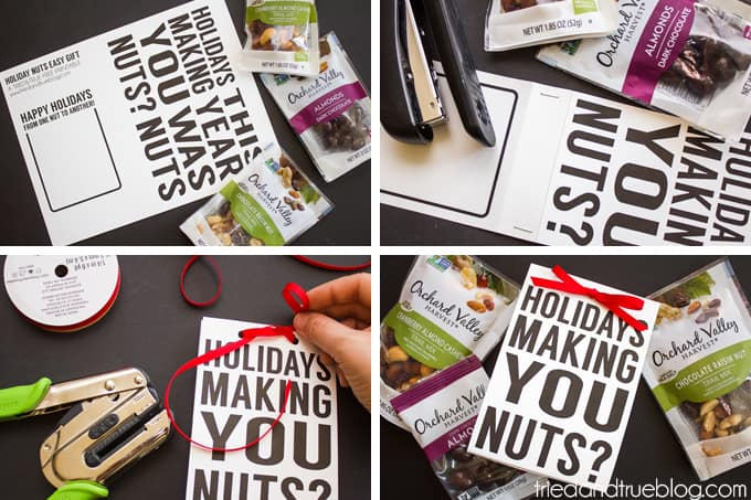 Holiday Nuts Quick & Easy Gift - Process