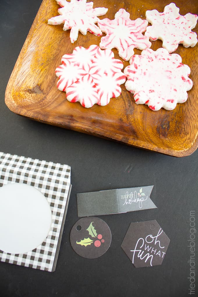 Peppermint Hot Chocolate Gift - Package