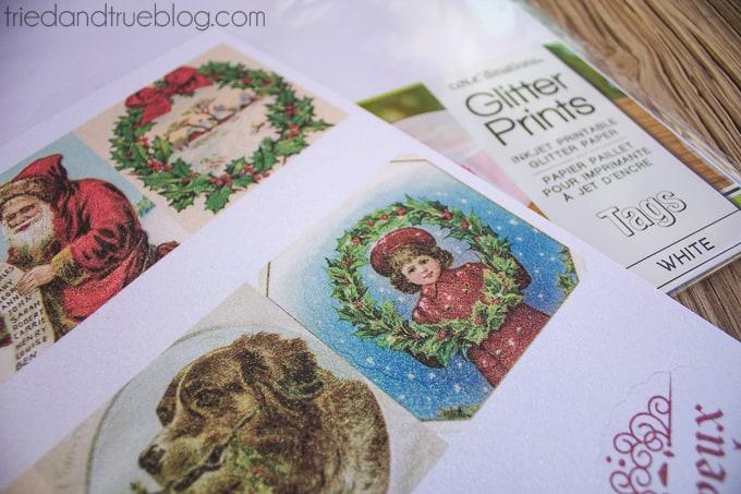 Vintage Christmas Gift Tags - Tags