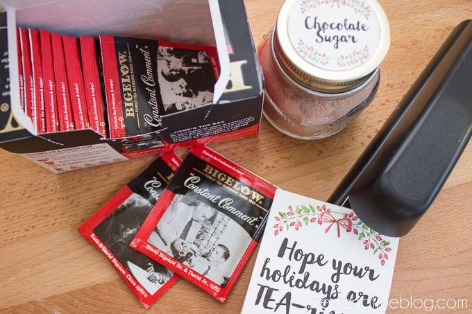 Tea-riffic Last Minute Teacher's Gift - Easy